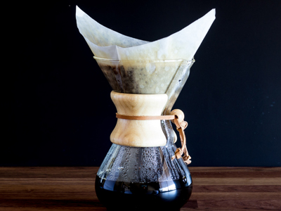 Chemex Brew Guide Step 6