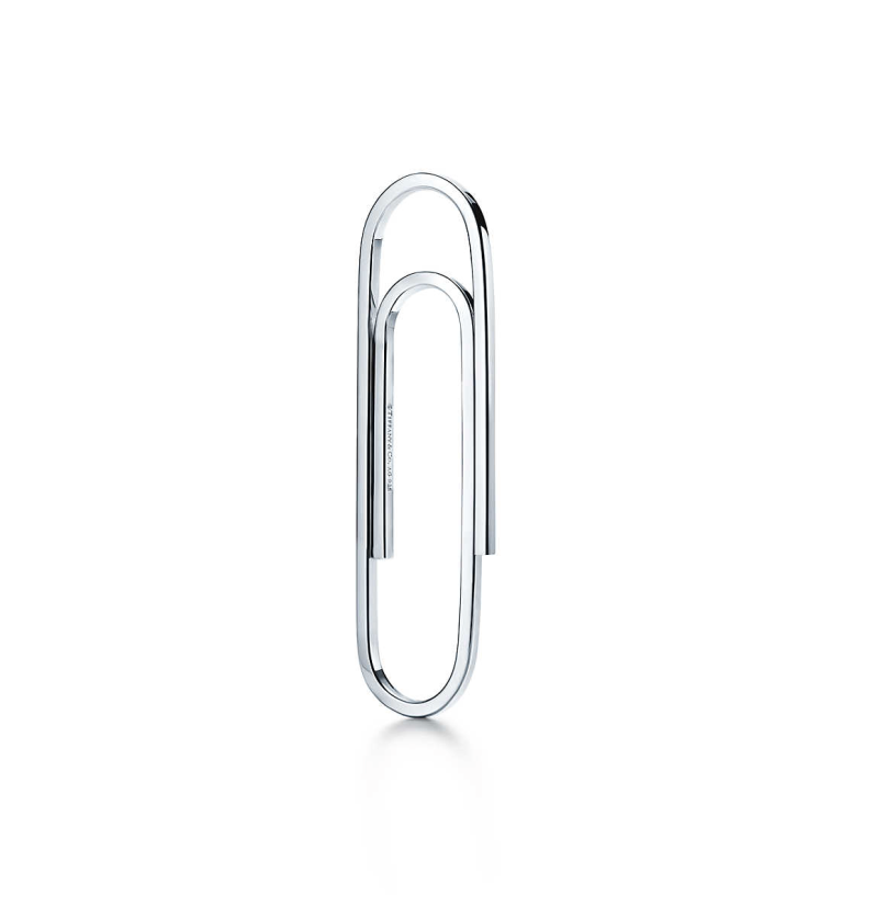 Tiffany Paper Clip Bookmark