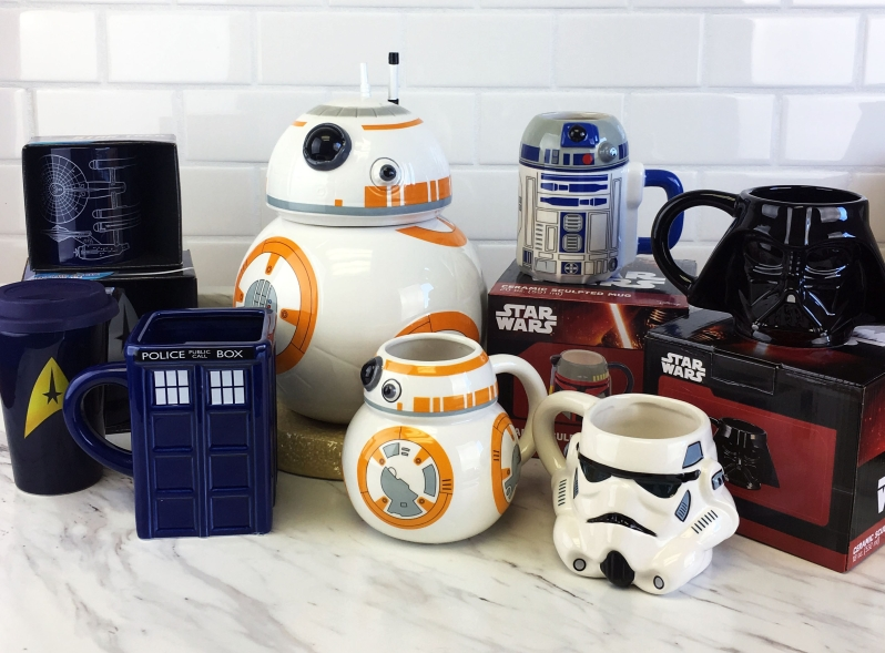 Star Wars, Star Trek & Doctor Who Mugs