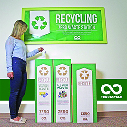 TerraCycle Zero Waste Station Recycling Boxes
